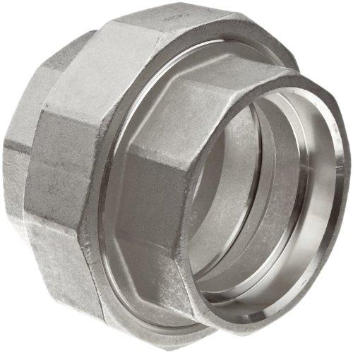 Stainless Steel Socket Weld Fittings - Stainless Steel 316 Cast Pipe Fitting, Union, Socket Weld, MSS SP-114, 1/2