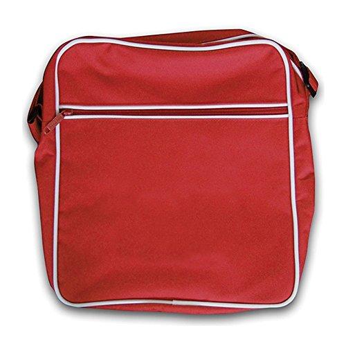 Retro Dressdown 93 Red Flight Bag Sykes fRRwE