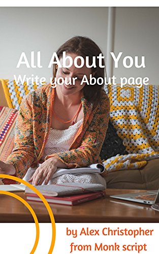 All About You: Write Your About Page - eWorkbook