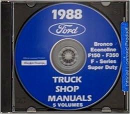 ford van    repair shop manual cd including econoline club wagon super wagon