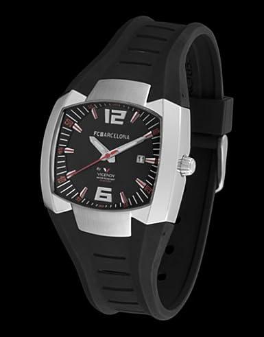 Viceroy 43765-55 - Reloj Caballero Acero FC Barcelona: Amazon.es: Relojes