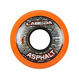 x1 org - Labeda WHEELS Inline Roller Hockey GRIPPER ASPHALT OUTDOOR ORANGE 59mm 85A x1