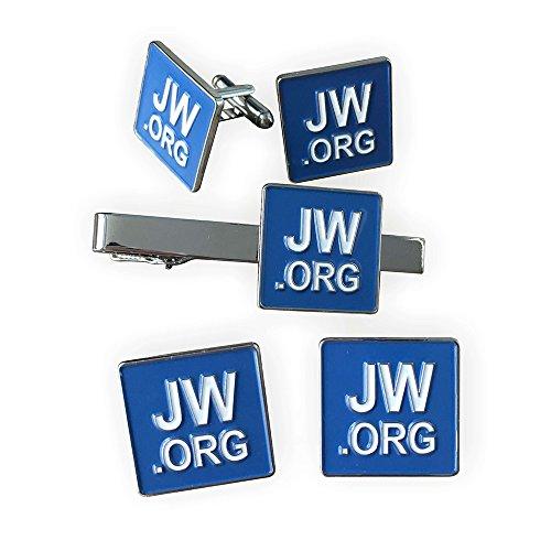 Gudeke JW.ORG Cufflinks and Ti