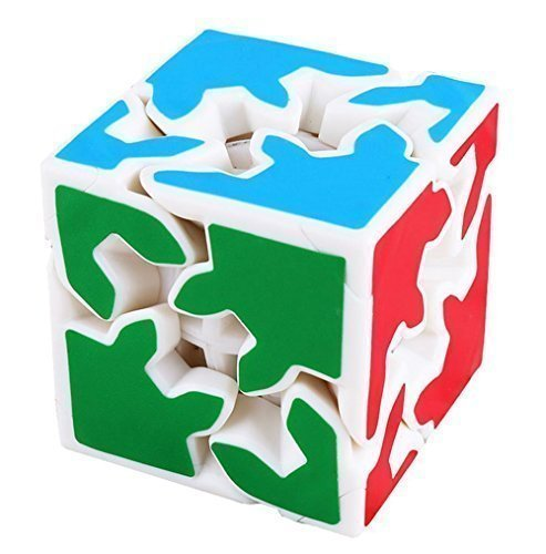 2x2 Magic Gear Plastics Cube Puzzles Toys-Unisex Children - Gear Shift Puzzle Cube
