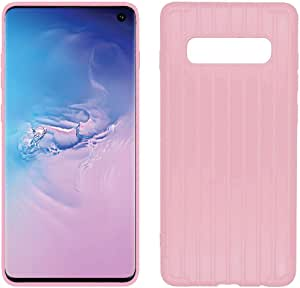 Flexible Plastic Case for Samsung Galaxy S10 (Pink)