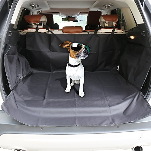 Cargo Cover for SUV EZYKOO Waterproof Scratch-Resistant Quilted Cargo Liner/Cover/Mats Size 41(W)X62(L) Dog Pet Car Cover for SUVs VANs (Cargo Cover For Toyota Venza compare prices)