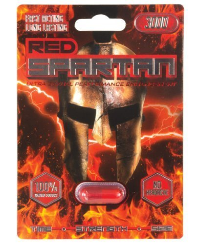 Red Spartan 3000 - 1 pill blister by Red Spartan 3000