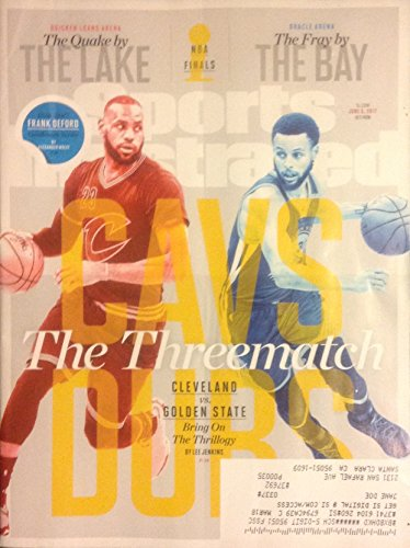 Sports Illustrated June 5, 2017 - The Threematch (Cleveland vs. Golden State) LeBron James & Steph Curry - NBA Playoffs - No Label on Cover