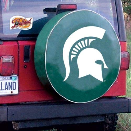 Holland Bar Stool TCSMMichStGN-28 1/2 x 8 Michigan State Tire Cover-Green by HBS (Image #3)