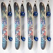 AUXPhome Universal - Adjustable Storage Rack, Skateboard Decoration Shelf, Skateboard Wall Mount Hanger, Skate