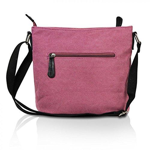 edc0c484d0e1a ... Glamexx24 Damen Handtaschen Tasche Schultertasche Umhängetasche mit Stern  Muster Tragetasche TE201622 Maroon q47pJy50D ...