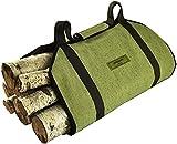 Sergisson Firewood Carrier - Log Tote Bag - Wood Carry Carrying Bag - Fireplace Fire Log Carrier Tote