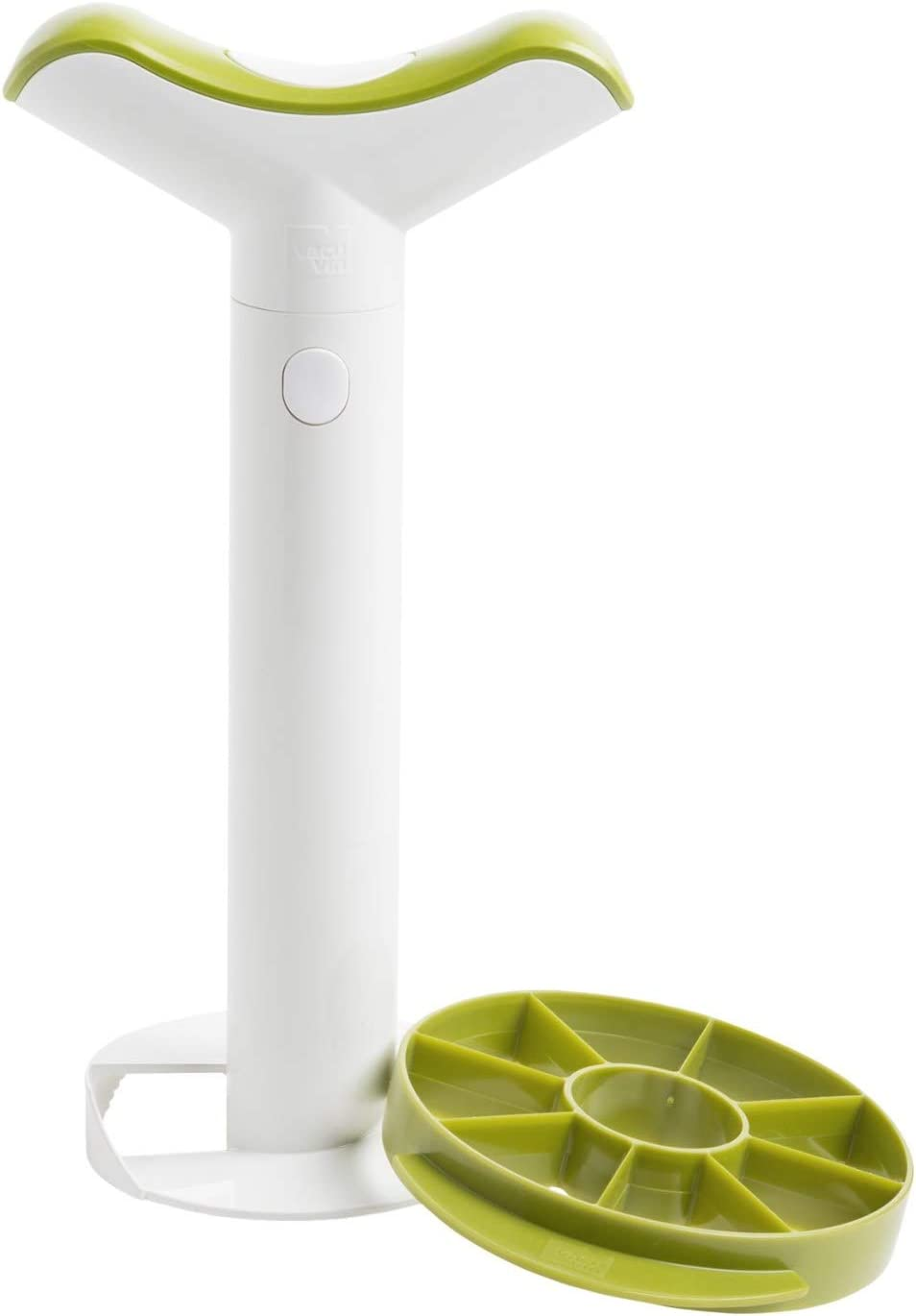 Tomorrow's Kitchen4-in-1 Pineapple Peeler, Corer, Slicer and Wedger (in Box) - White and Green