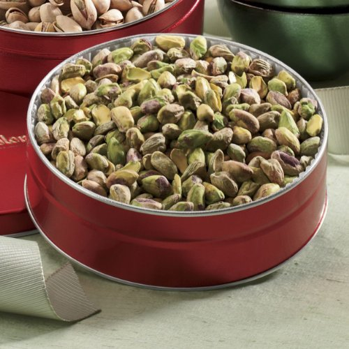 Shelled Pistachios Gift Tin from The Swiss Colony