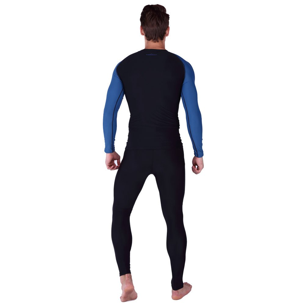 LybCvad surf Swimwear Couple Sunscreen Models Swimsuit Long-Sleeved Sunscreen Couple Diving Suit Surfing Beachwear 394db4