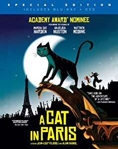 A Cat in Paris (Two-Disc Blu-ray/DVD Combo)
