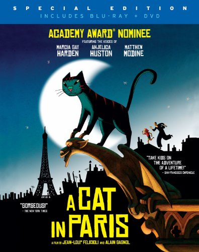 A Cat in Paris (With DVD, Widescreen, Subtitled, 2PC)