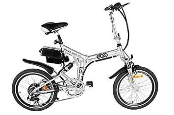 50,8 cm E-GO W Q1 bicicleta plegable 250 W para bicicleta eléctrica