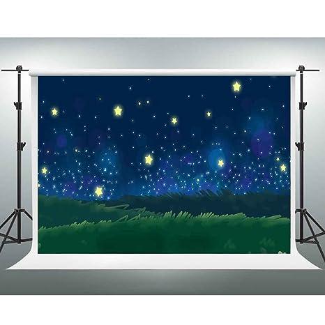 amazon com gesen 7x5ft cartoon backdrops fantastic starry sky