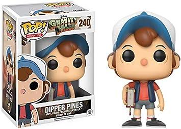 Funko Pop! - Vinyl - Gravity Falls, Figura Dipper Pines (12373), colores aleatorios , Modelos/colores Surtidos, 1 Unidad: Amazon.es: Juguetes y juegos