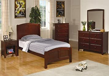 Amazon.com - Parker Collection Coaster 6pc Bedroom Set Youth ...