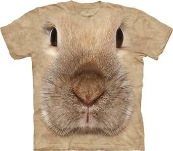 The Mountain Bunny Face Child Tshirt S, Tan