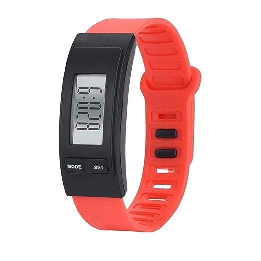 Relojes deportivos unisex,KanLin1986 reloj digital deportivo relojes inteligentes banda podómetro correa smartwatch reloj con