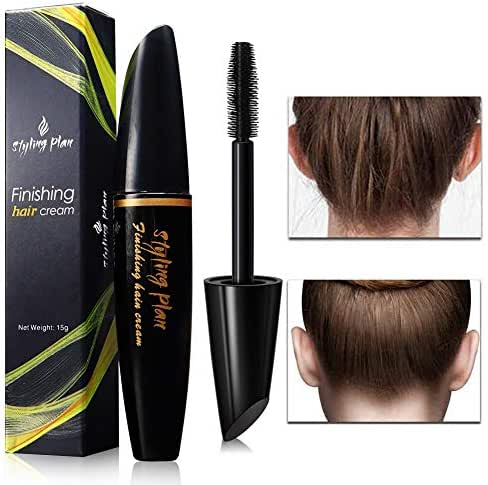 Hair Feel Finishing Stick, Small Broken Hair Finishing Cream Refreshing Not Greasy Shaping Gel Cream Hair Wax Stick Fixing Bangs Stereotypes Cream