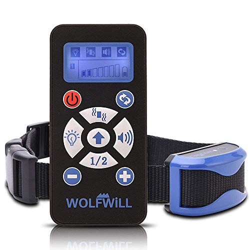 WOLFWILL Waterproof & Rechargeable Auto Anti Bark Remote Dog Training...