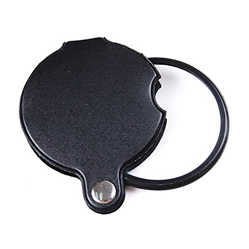 60mm Magnifiers (5X 60mm Magnifier Pocket Folding Magnifying Glass Loupe Pocket Spiege)