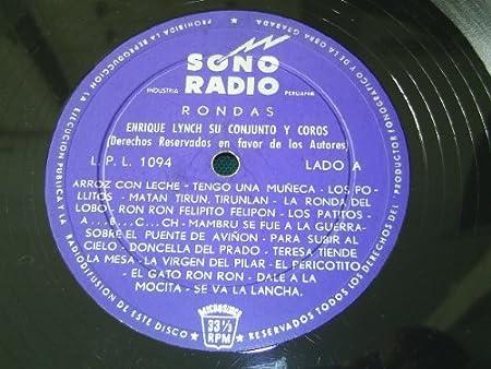 Rondas Enrique Lynch; Conjuntos Y Coros: Amazon.es: Música