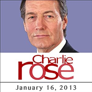 Charlie Rose: Michael Scherer, Joe Scarborough, and Roger McNamee, January 16, 2013 Radio/TV Program