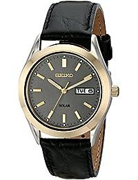 Men's SNE050 Solar Strap Charcoal Dial Watch