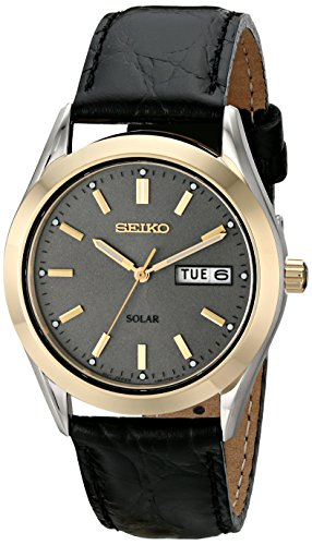 Seiko-Mens-SNE050-Solar-Strap-Charcoal-Dial-Watch