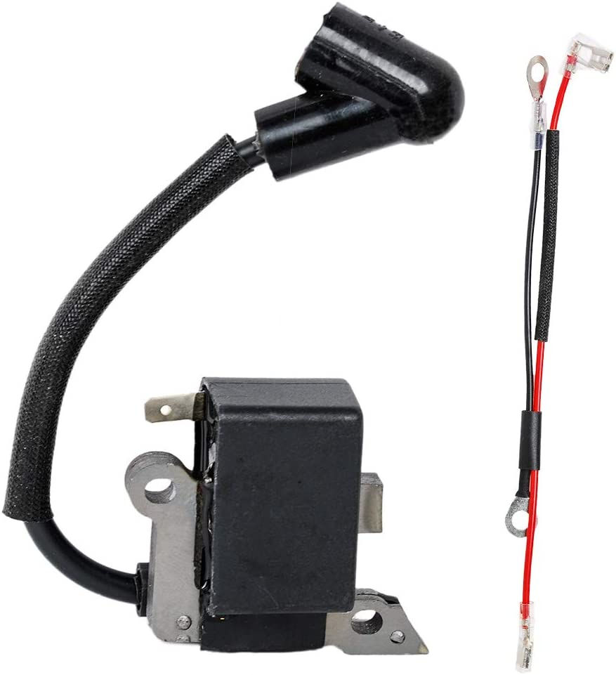 Replacement Ignition Coil Module Spark Plug for Husqvarna 530039143 530039239 Chainsaw Parts 545199901,545063901