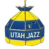 NBA Utah Jazz Tiffany Gameroom Lamp, 16''