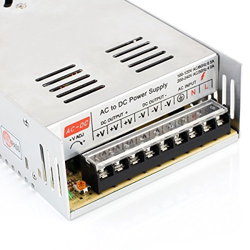 SUPERNIGHT DC 12V 30A 360W Universal Regulated Switching