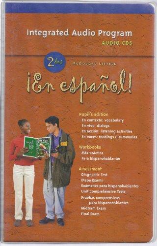 ¡En español!: Audio CD Program Level 2 (Spanish Edition) by MCDOUGAL LITTEL
