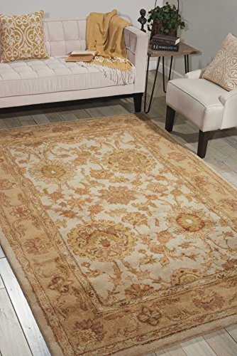 Nourison Jaipur (JA27) Ivory Rectangle Area Rug, 3-Feet 9-Inches by 5-Feet 9-Inches (3'9