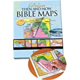 Deluxe Then and Now Bible Maps with CD-Rom: Bible Atlas with Clear Plastic Overlays of Modern Cities and Countries