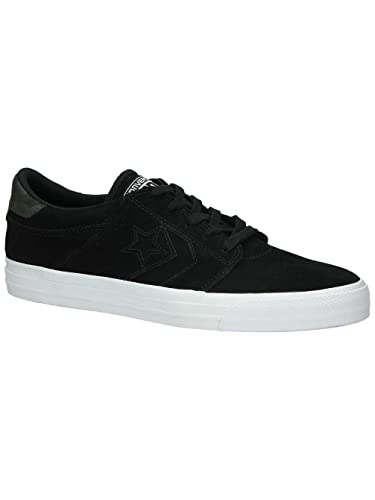 fa81598ec6b6 Converse Cons Tre Star Suede Ox Mens Trainers-Black Black White   Amazon.co.uk  Shoes   Bags