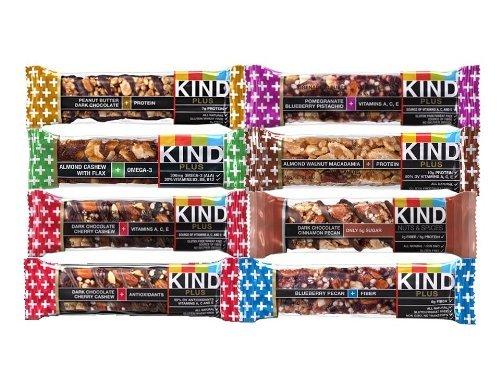 Kind Plus Bars Variety Pack - 8 Bars