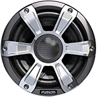 Fusion Entertainment SG-FL65SPC 230W Coaxial Sports Marine Speaker with LED, Chrome, 6.5