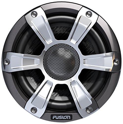 Fusion Entertainment sg-fl65spc 230W Altavoz coaxial de Deportes Marino con LED, Cromo, 16,5cm