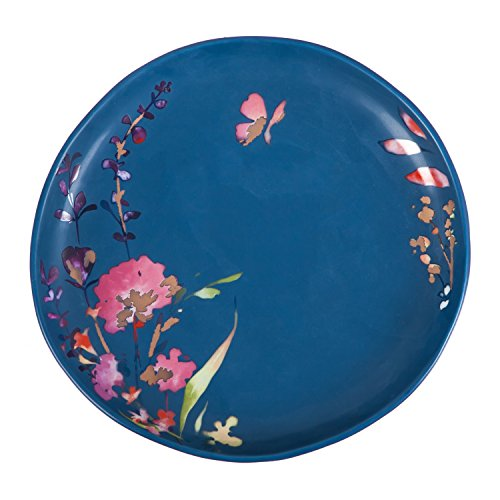 (Cypress Home Watercolor Boho Ceramic Lunch Plate)