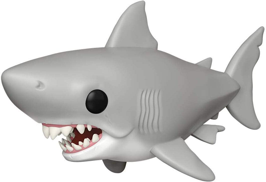 """Funko Movies: Jaws - Jaws 6"""" (Great White Shark) Pop! Vinyl Figure (Includes Compatible Pop Box Protector Case)"""