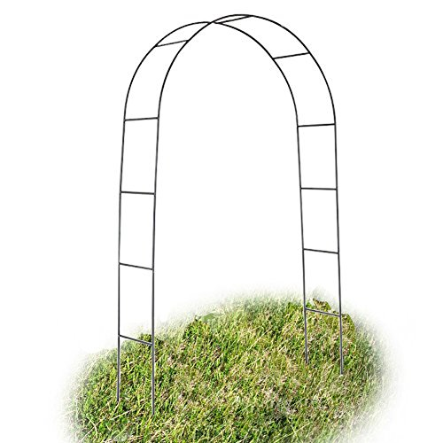 Mallofusa 7.9 Ft Green Metal Wedding Arch Decoration Party Prom Bridal Beach Garden Archway (Arches And Arbors)