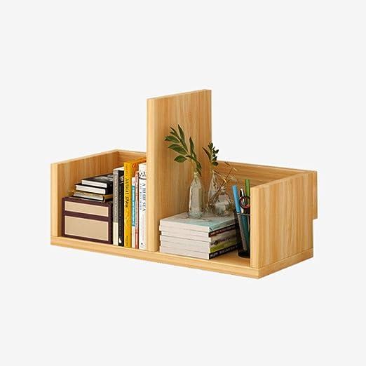 BETTY Artesanía Estante de mesa de madera Estantería de escritorio ...