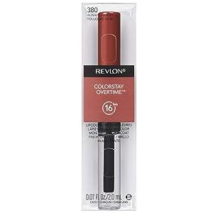 Revlon ColorStay Overtime Liquid Lip Color, Always Sienna [380] 0.07 oz (Pack of 5)