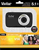 Vivitar 5.1MP Camera with 1.8-Inch TFT Panel, Colors/Styles May Vary (V54)